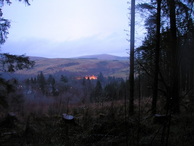 Twilight on Hartsike Bog
