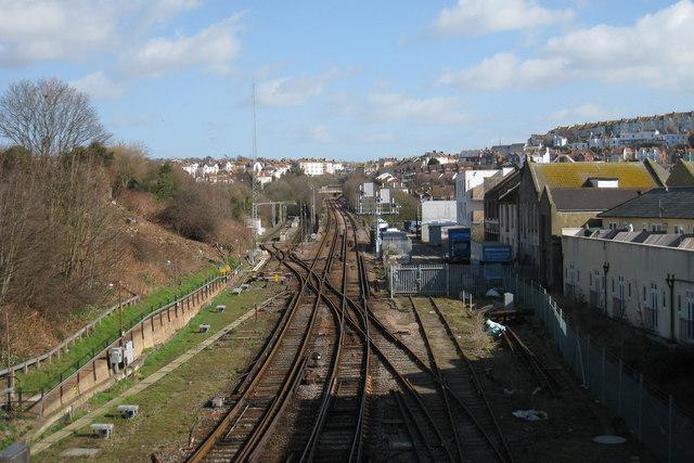 Railway from Hastings