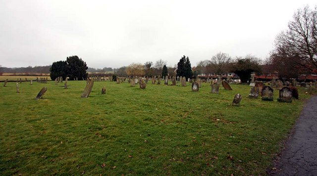 All Saints, Biddenden, Kent - Churchyard