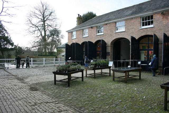 The Coach Yard in the Stables at Saltram.
