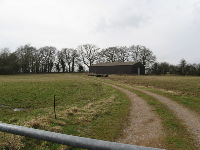Barn on the west side of country road to Coneyhurst