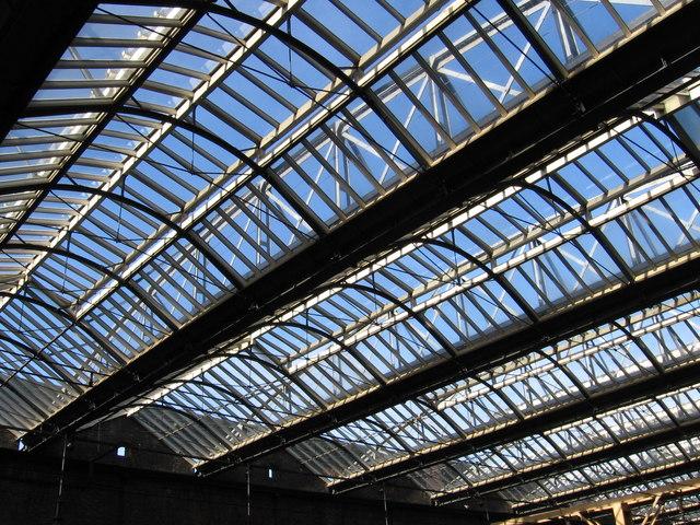 Stoke-on-Trent - Station Roof
