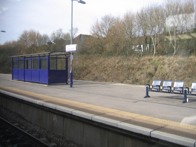 Filton Abbey Wood Railway Station Platform