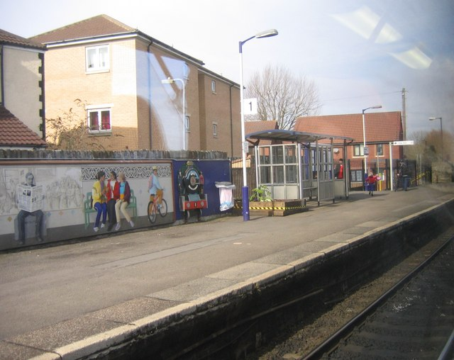 Bristol Stapleton Road Railway Station Mural