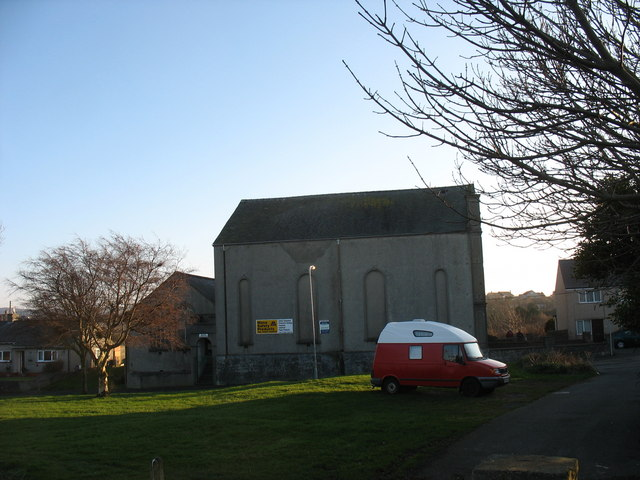 The former Bethel Welsh Wesleyan Chapel from the north