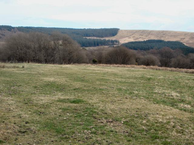 A view across upper Cwm Du