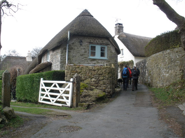 Narrow lane, through Pethybridge