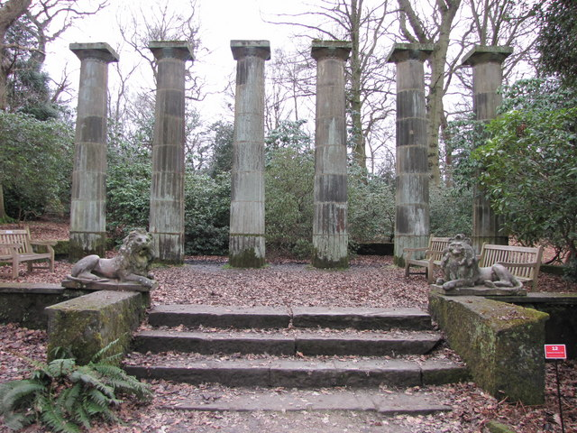 Columns and Lions