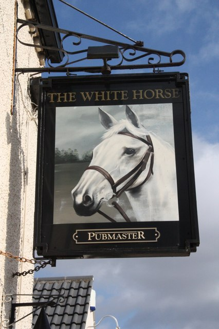 The sign of the White Horse