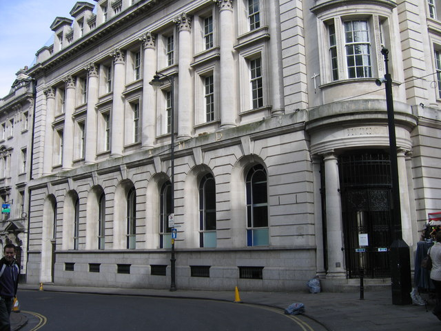 HSBC, Ex-Midland Bank ,Corn Street, Bristol
