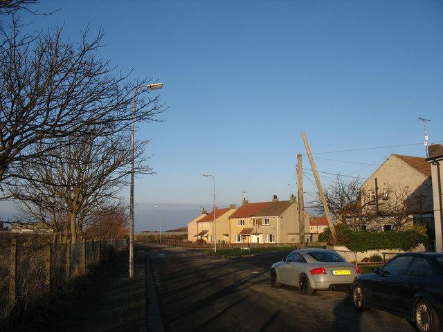 The Craig y Don estate, Amlwch Port