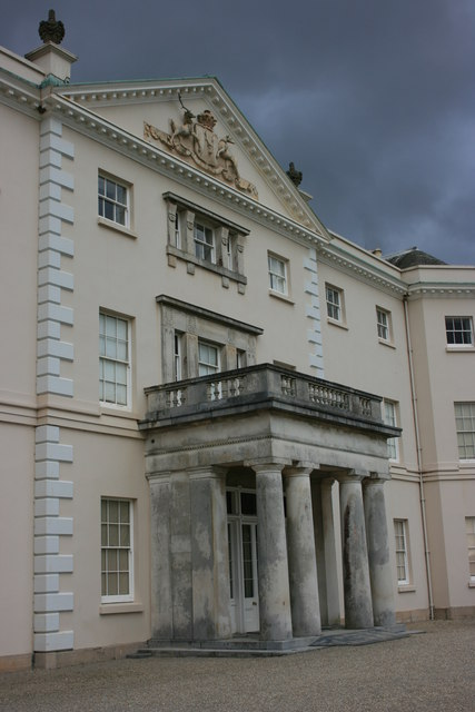 Saltram House, south front
