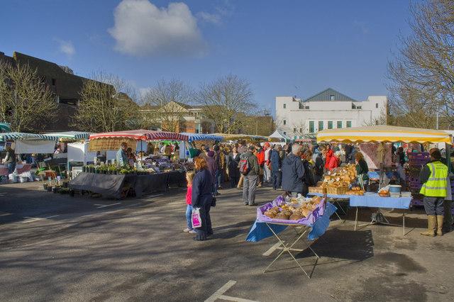 Farmer's Market - Friarsgate Car Park - Winchester