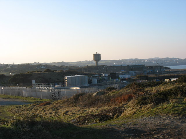 The new Amlwch Sewage Plant