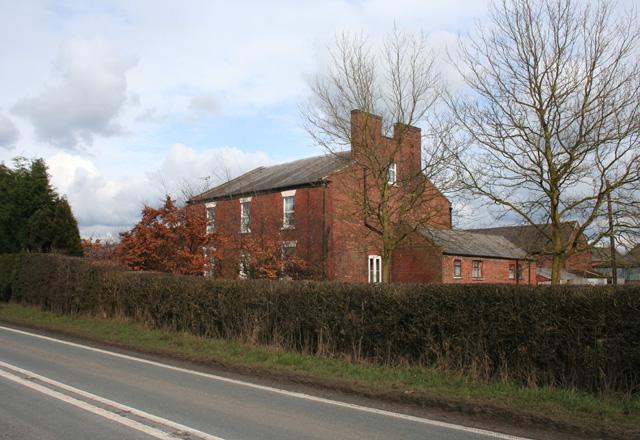 Moat House Farm, Minshull Vernon