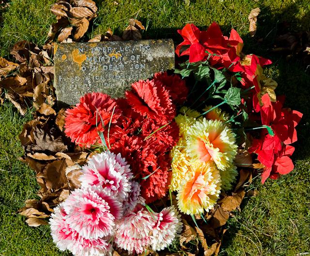 Grave in St Simon & St Jude's Churchyard, Bramdean
