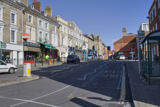 Jewry Street From The High Street Junction