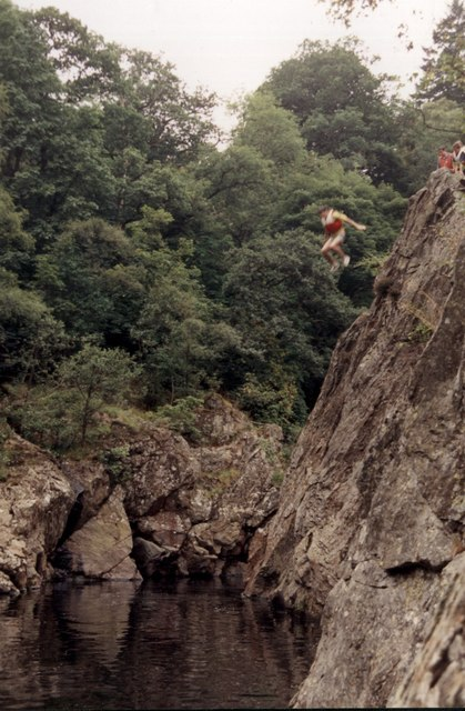 The Soldier's Leap at Killiecrankie