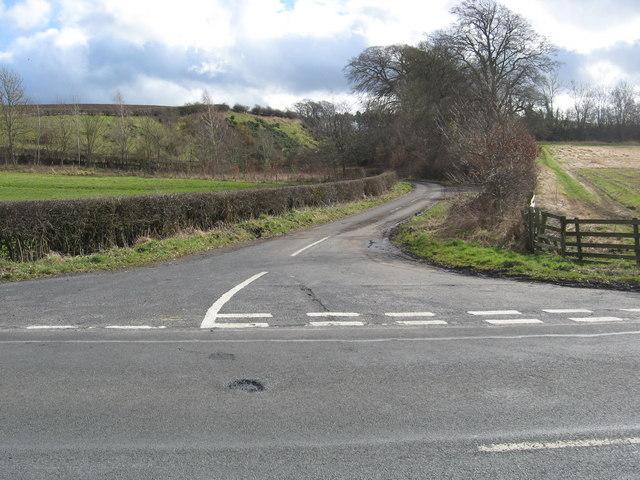 Road to Mellendean Farm
