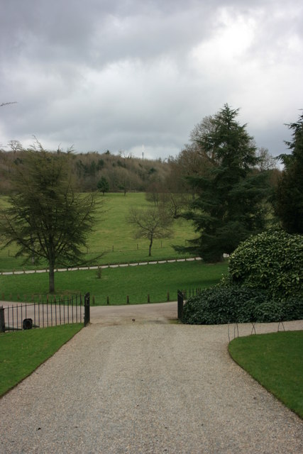 The park at Saltram