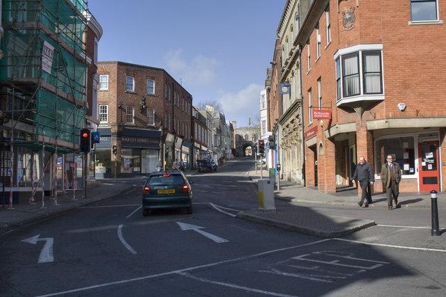 Upper High Street - Winchester