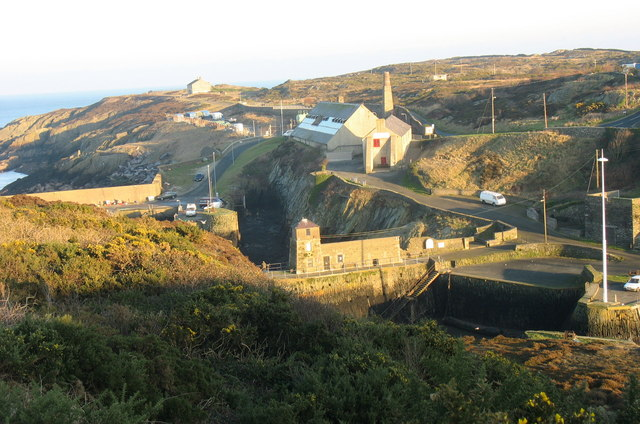 The watch house at Porth Amlwch