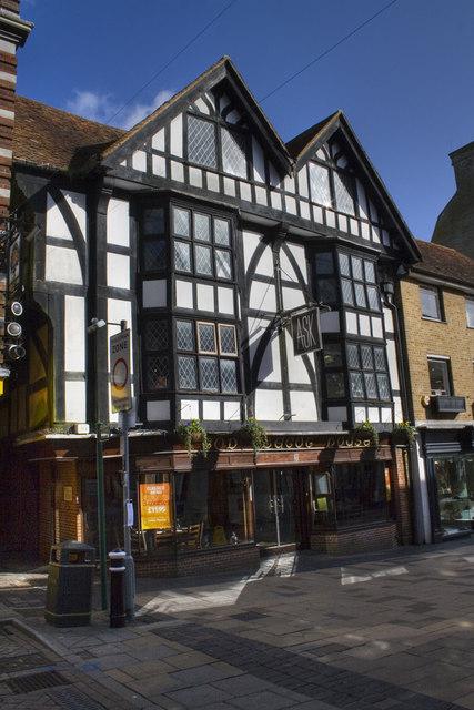 God Begot House - Winchester High Street