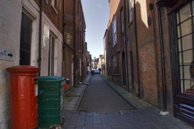 Little Minster Street - Winchester