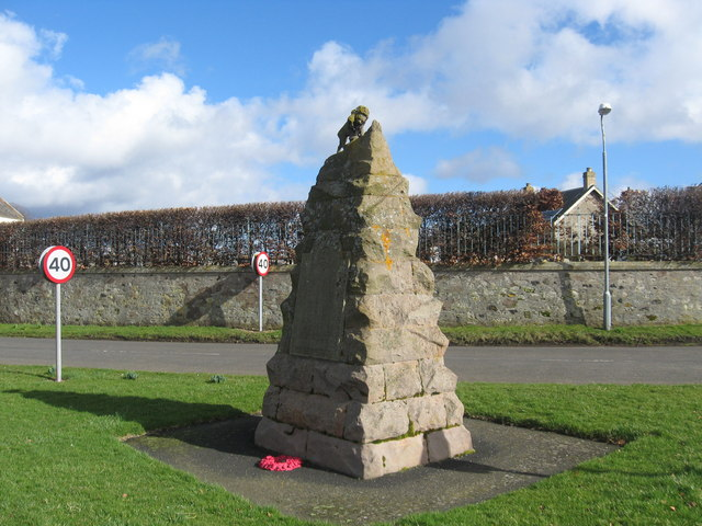 The War Memorial at Sprouston Village