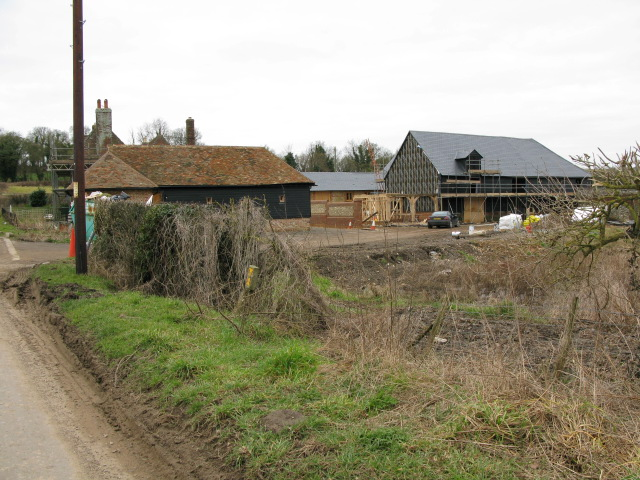 Barn conversion at Yockletts Farm