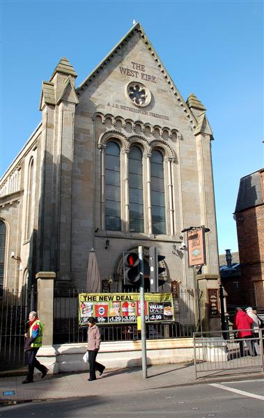 The Former Free Church In Ayr