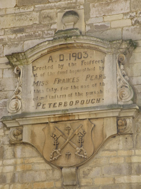 Gable end inscription
