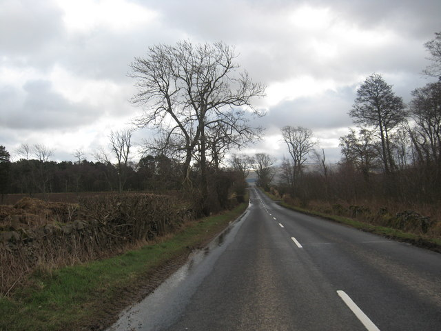 On the way to Town Yetholm