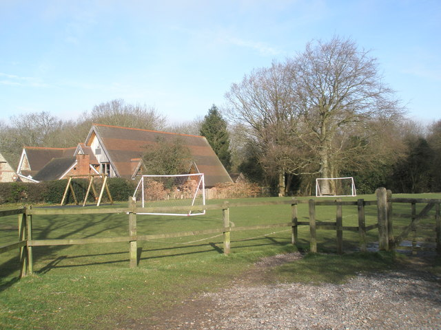 Recreation ground opposite All Saints', Steep