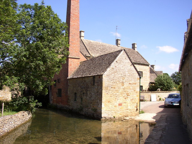 The Mill and ford at Lower Slaughter