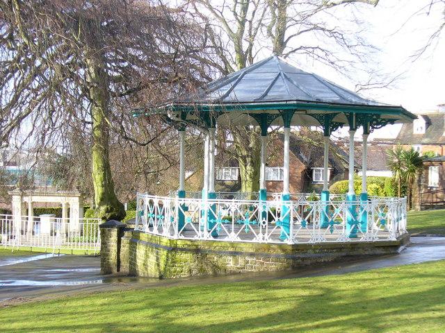Castle Gardens Bandstand