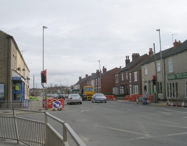 Pontefract Road - viewed from Station Lane
