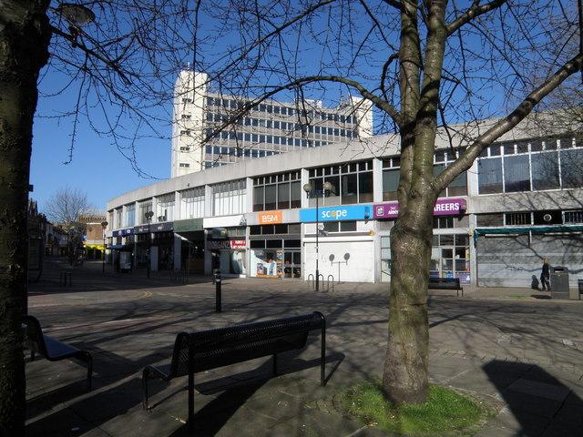 Hereward Cross Shopping Centre