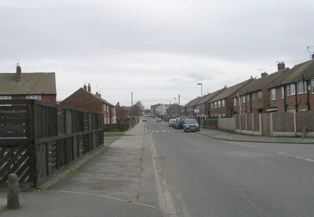 Hardwick Road - viewed from Priory Road