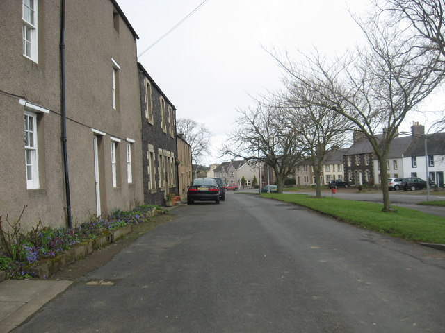 A scene in Town Yetholm