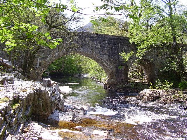 Bridge over Dundonnell River