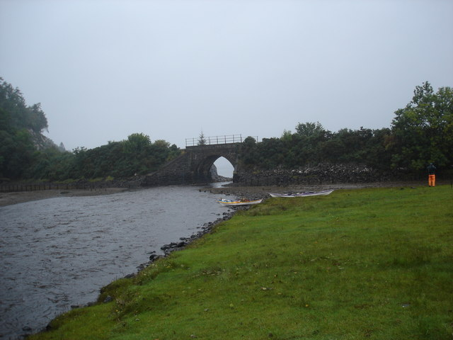 Abhainn Srath Ascaig at Fernaig