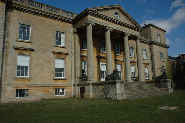South front of Croome Court