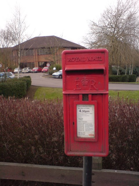 Postbox on Middlemarch Business Park