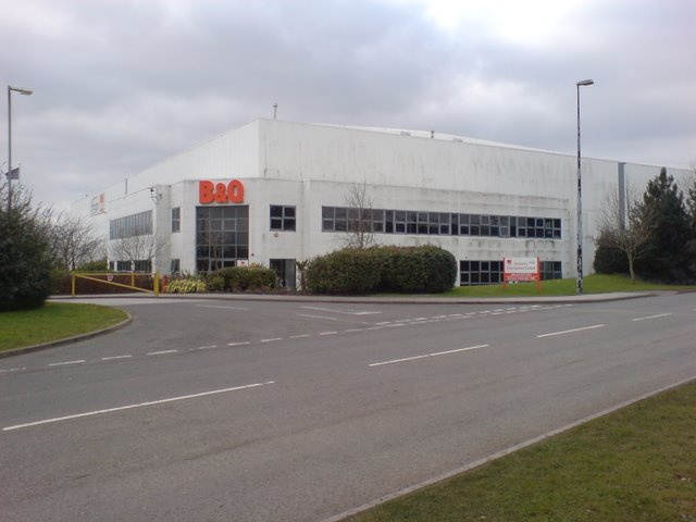 B&Q's Coventry Distribution Centre