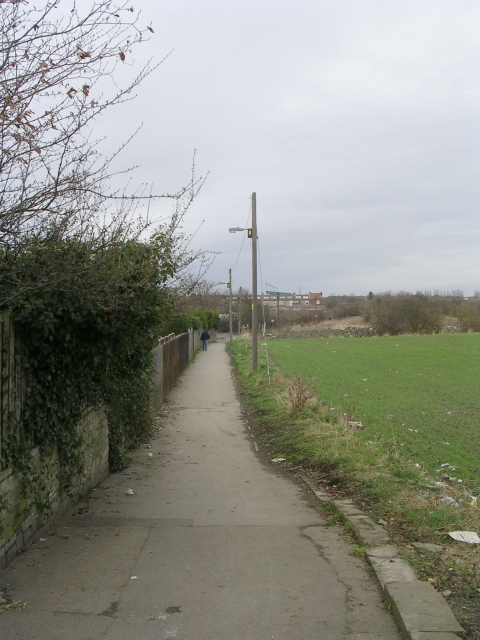 Footpath - Pontefract Road