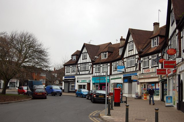 Shops on Crescent Way, off Sevenoaks Road