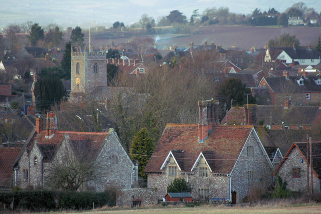 Trull Village from Cotlake