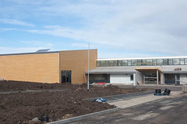 Heathryburn School (under construction)
