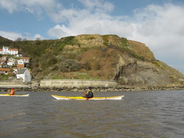 Runswick Bay headland